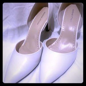 Adrienne Vittadini white pumps